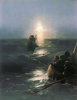 Jesus Walks on Water, Ivan Aivazovsky (1888)