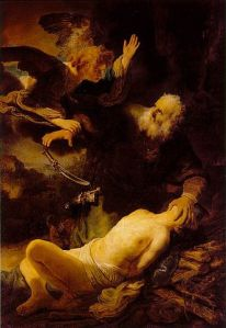 Abraham and Isaac, Rembrandt (1634)