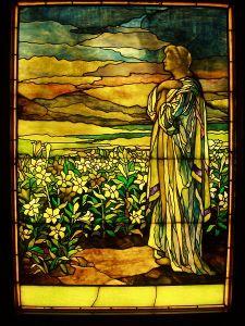 450px-Field_of_Lilies_-_Tiffany_Studios,_c._1910