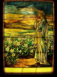 450px-Field_of_Lilies_-_Tiffany_Studios,_c._1910