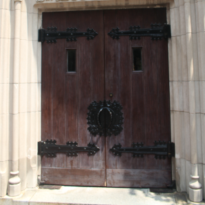 Savannah Church Door