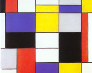 Composition A - Piet Mondrian, 1923