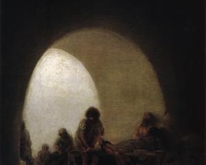 """Francisco de Goya (1746-1828), """"Prison Interior"""""""