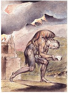 William Blake: Christian Reading in His Book (Plate 2, 1824–27)